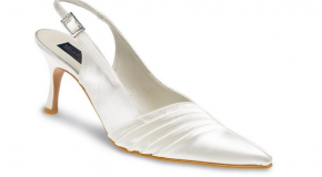 Elegant Pointed Toe Wedding Shoes – Emma by Meadows